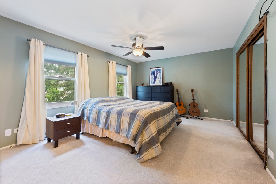 Real Estate Photography - 884 Knollwood, Buffalo Grove, IL, 60089 - Master Bedroom
