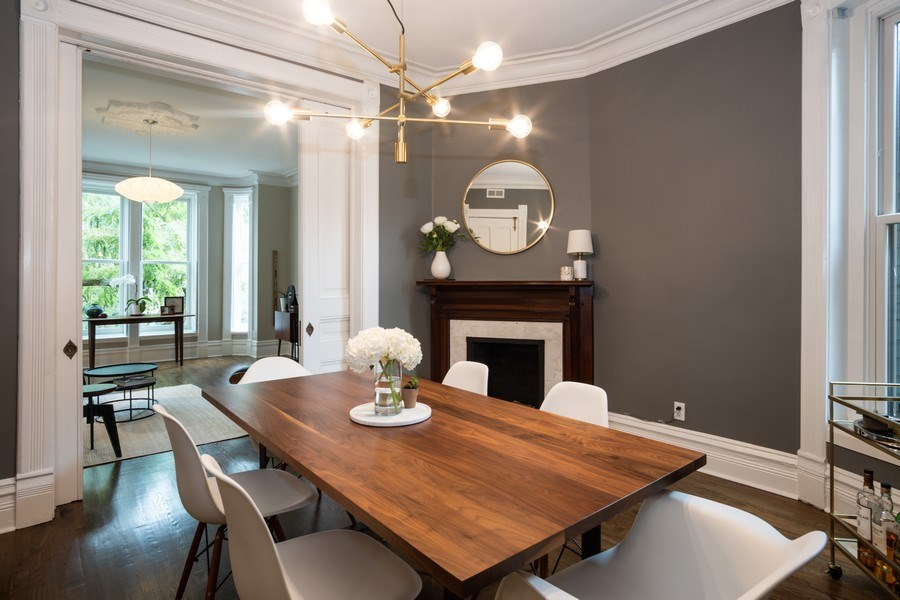Real Estate Photography - 1965 N Lincoln, Unit 2, Chicago, IL, 60614 - Dining Room