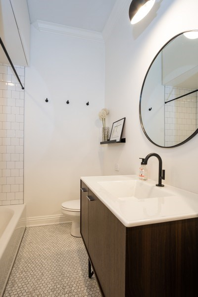 Real Estate Photography - 1965 N Lincoln, Unit 2, Chicago, IL, 60614 - Bathroom