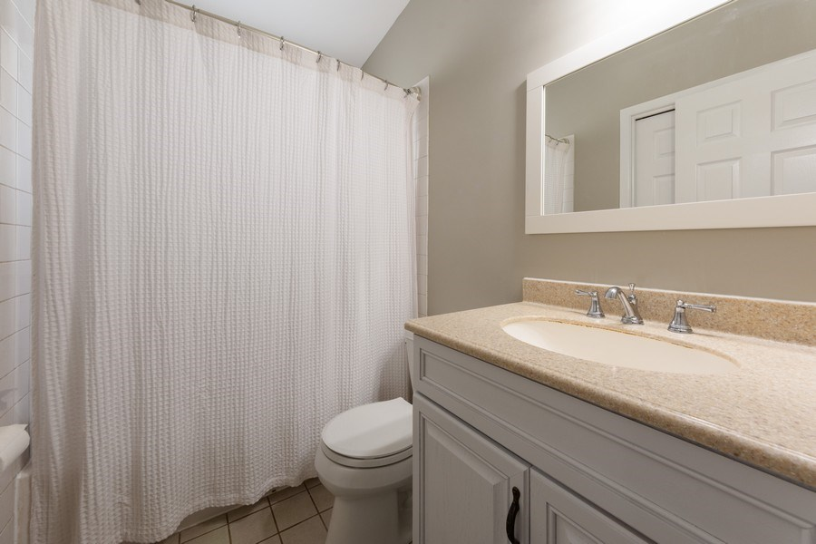 Real Estate Photography - 501 South Street, Barrington, IL, 60010 - Bathroom