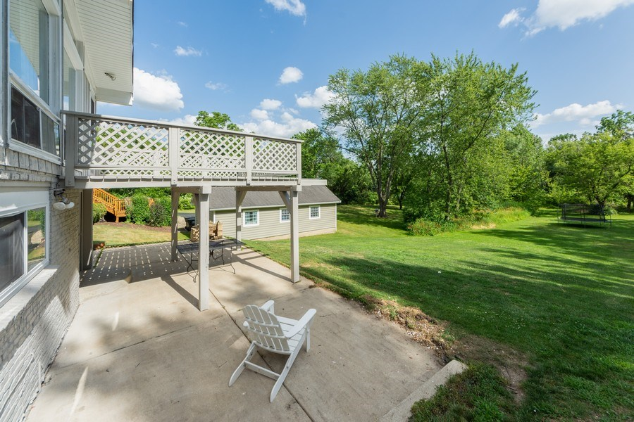 Real Estate Photography - 501 South Street, Barrington, IL, 60010 - Patio