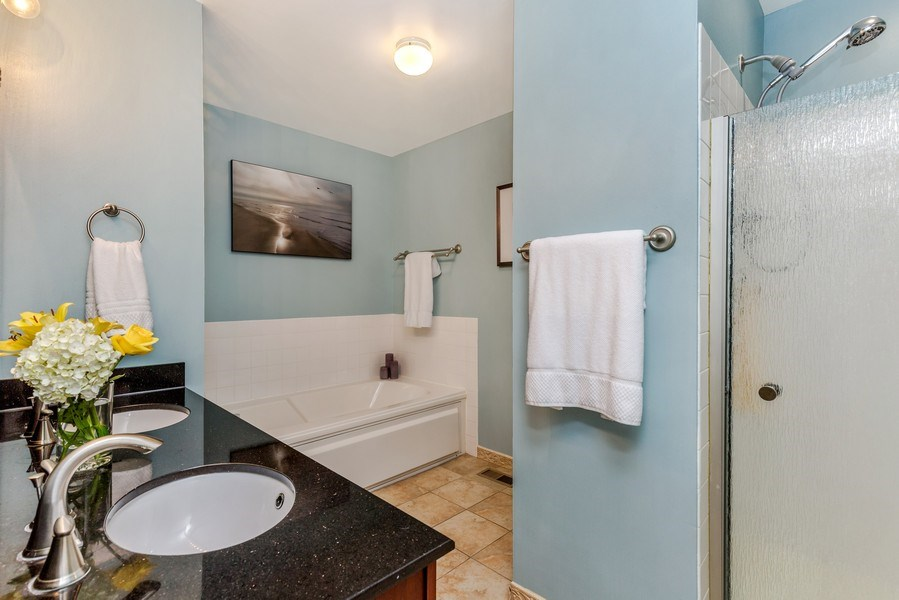 Real Estate Photography - 1243 Dunamon Drive, Bartlett, IL, 60103 - Master Bathroom