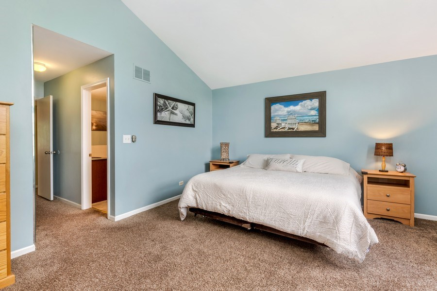 Real Estate Photography - 1243 Dunamon Drive, Bartlett, IL, 60103 - Master Bedroom