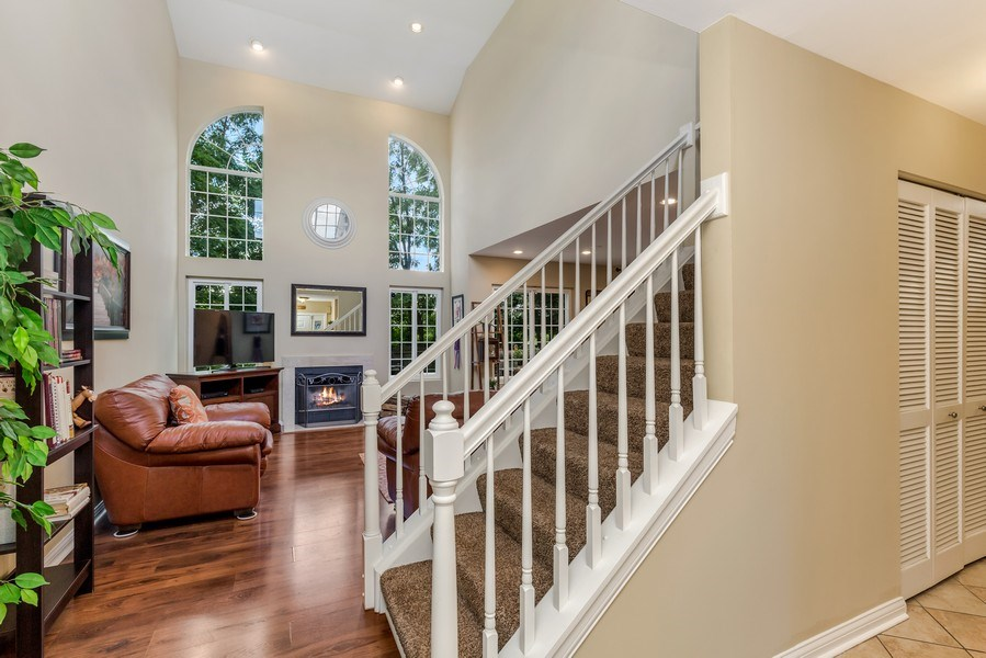 Real Estate Photography - 1243 Dunamon Drive, Bartlett, IL, 60103 - Foyer