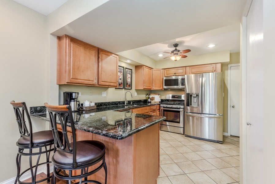 Real Estate Photography - 1243 Dunamon Drive, Bartlett, IL, 60103 - Kitchen
