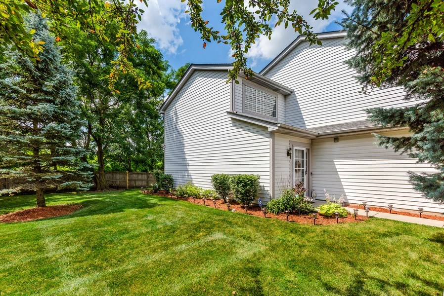 Real Estate Photography - 1243 Dunamon Drive, Bartlett, IL, 60103 - Side View