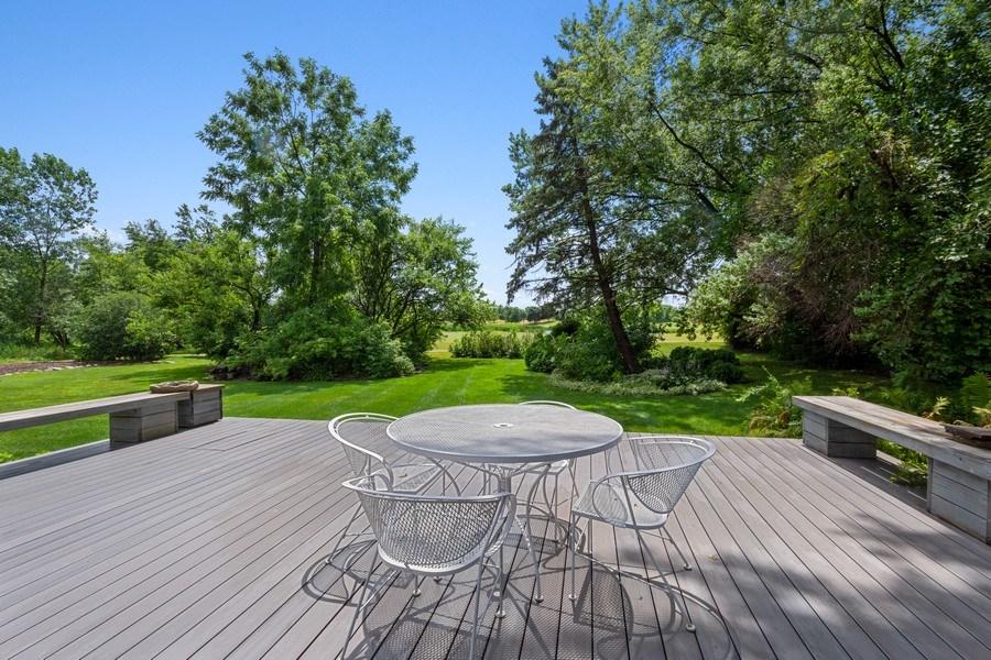 Real Estate Photography - 143 Hillcrest Ct, Barrington, IL, 60010 - Deck