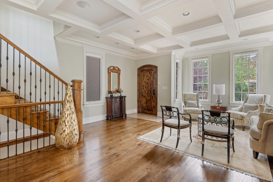 Real Estate Photography - 1822 W School St, Chicago, IL, 60657 - Living Room