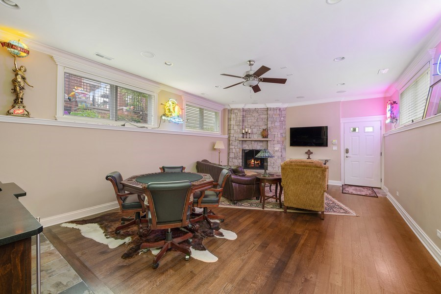Real Estate Photography - 1822 W School St, Chicago, IL, 60657 - Lower Level