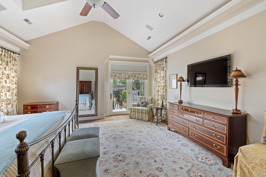 Real Estate Photography - 1822 W School St, Chicago, IL, 60657 - Master Bedroom