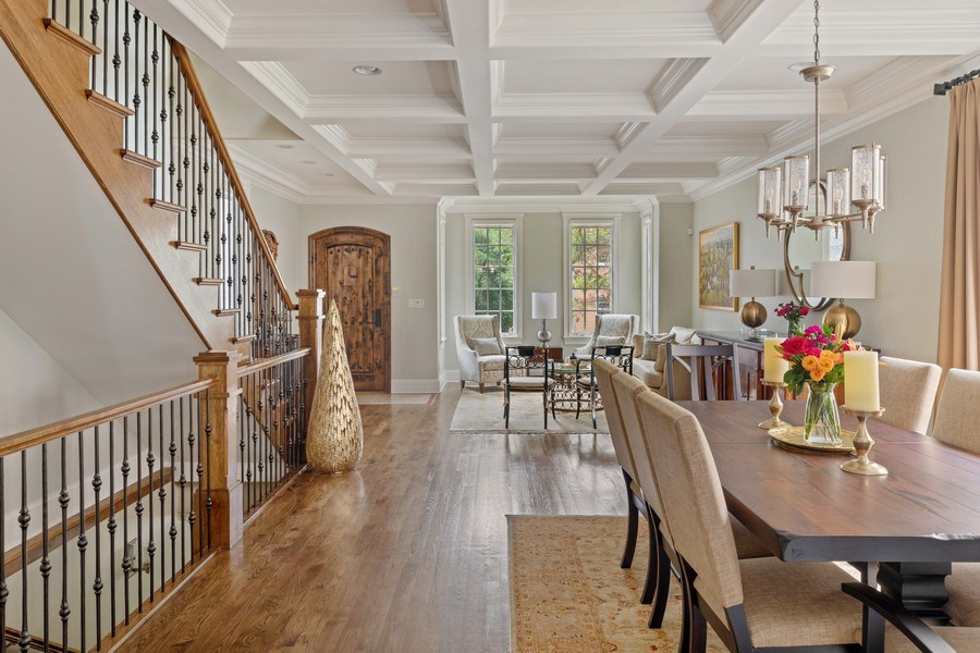 Real Estate Photography - 1822 W School St, Chicago, IL, 60657 - Dining Room