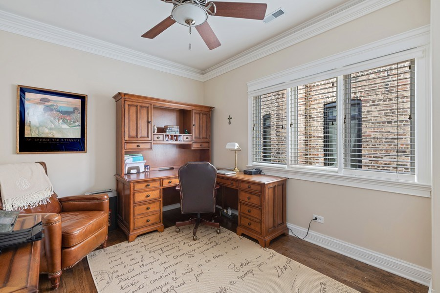 Real Estate Photography - 1822 W School St, Chicago, IL, 60657 - 3rd Bedroom