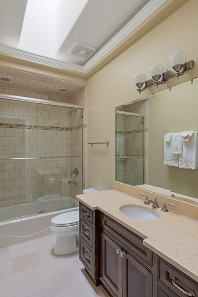 Real Estate Photography - 1822 W School St, Chicago, IL, 60657 - 2nd Bathroom