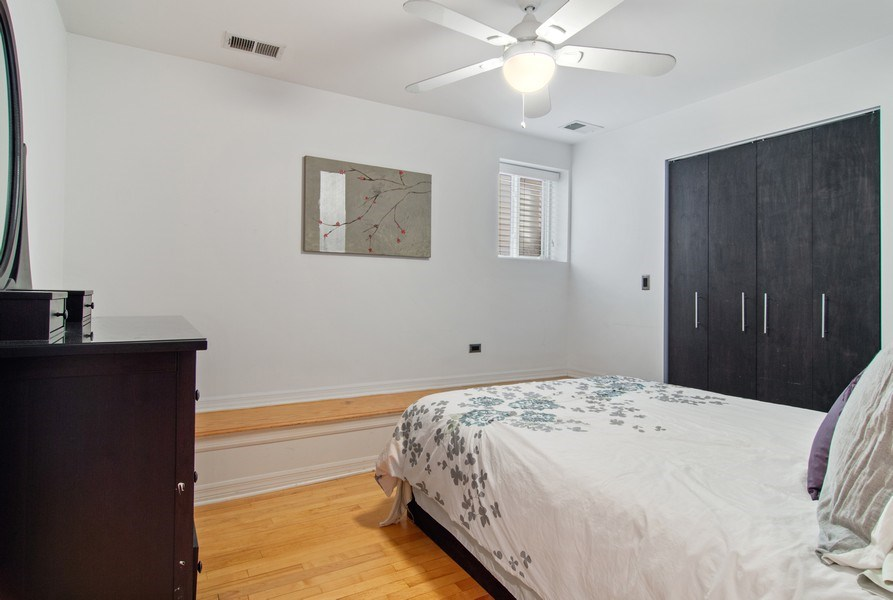 Real Estate Photography - 4039 N Kilbourn, Unit 1S, Chicago, IL, 60641 - 2nd Bedroom