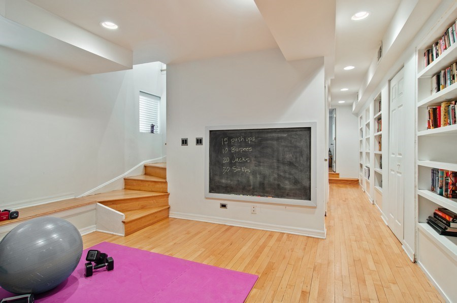 Real Estate Photography - 4039 N Kilbourn, Unit 1S, Chicago, IL, 60641 - Lower Level