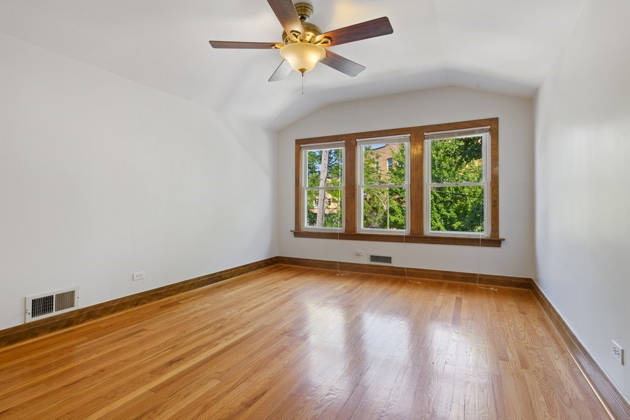 Real Estate Photography - 4638 N Lowell Ave, Chicago, IL, 60630 - 2nd Bedroom
