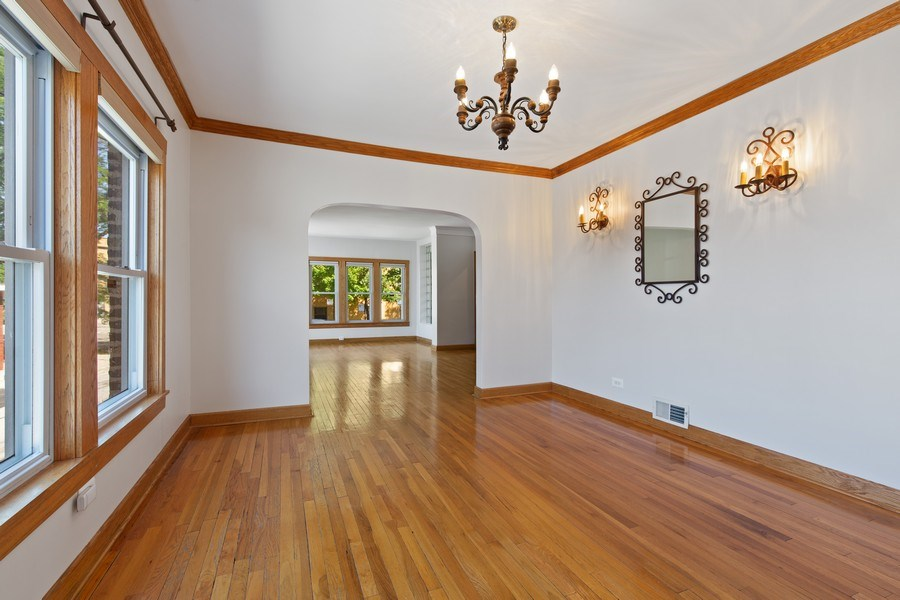 Real Estate Photography - 4638 N Lowell Ave, Chicago, IL, 60630 - Dining Room