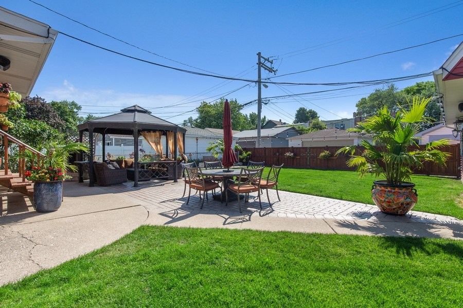 Real Estate Photography - 4638 N Lowell Ave, Chicago, IL, 60630 - Back Yard
