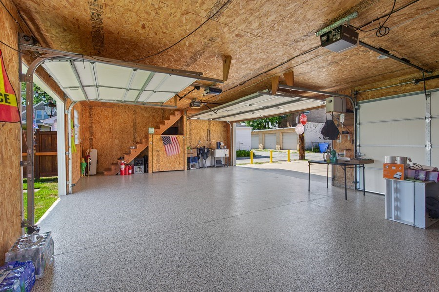 Real Estate Photography - 4638 N Lowell Ave, Chicago, IL, 60630 - Garage