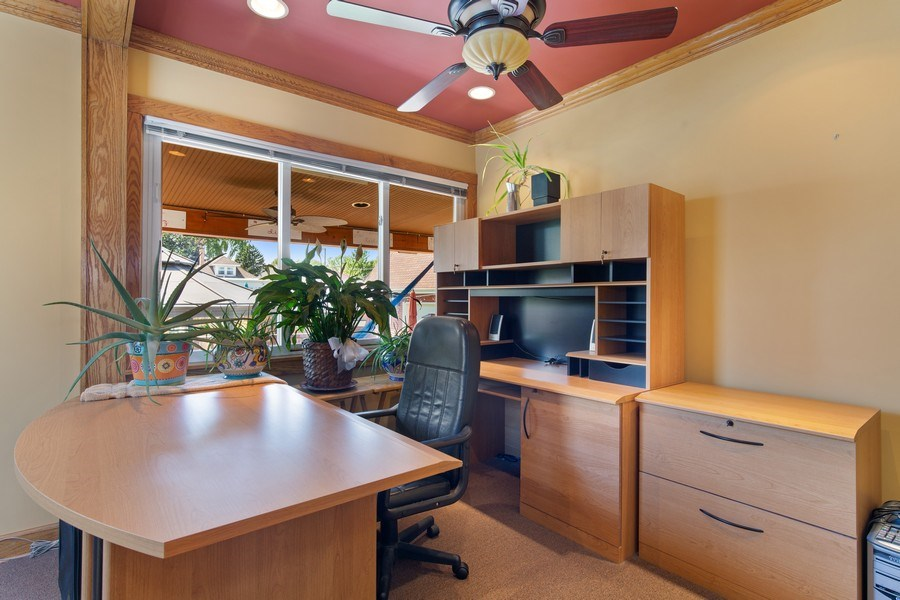 Real Estate Photography - 4638 N Lowell Ave, Chicago, IL, 60630 - Office