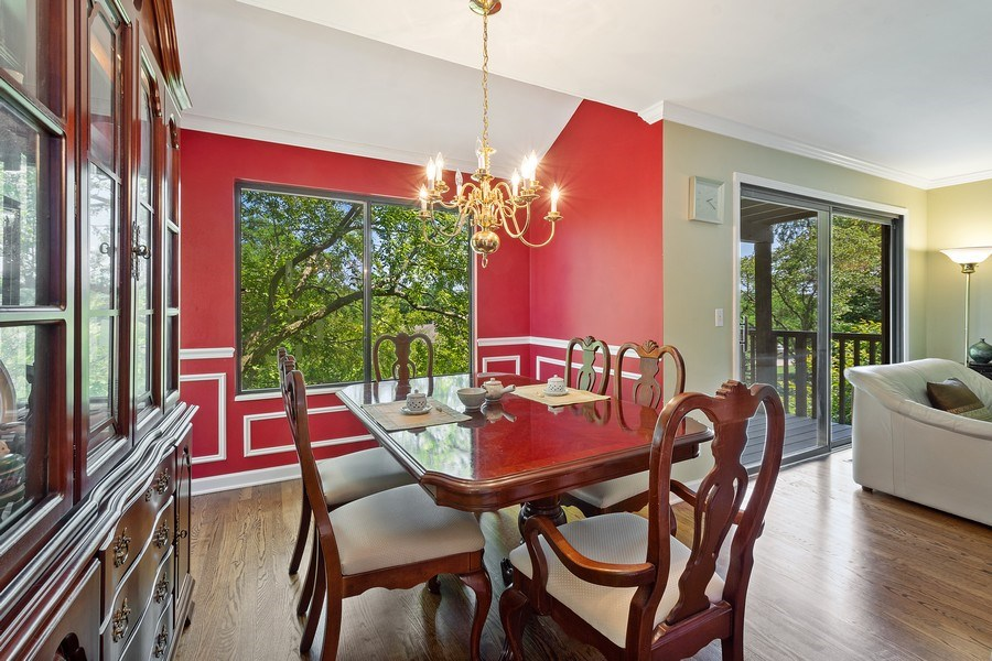 Real Estate Photography - 811 Shoreline Rd, Lake Barrington, IL, 60010 - Dining Room
