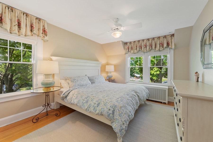 Real Estate Photography - 343 Bryant Ave, Glen Ellyn, IL, 60137 - Master Bedroom
