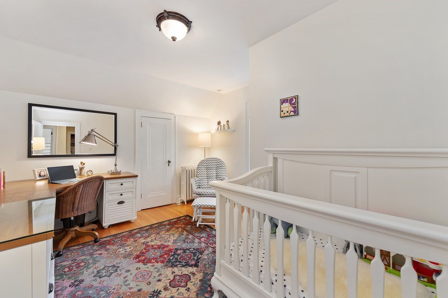 Real Estate Photography - 343 Bryant Ave, Glen Ellyn, IL, 60137 - 2nd Bedroom