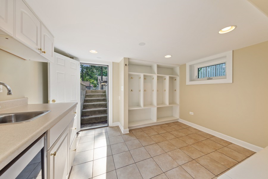 Real Estate Photography - 343 Bryant Ave, Glen Ellyn, IL, 60137 - Mudroom