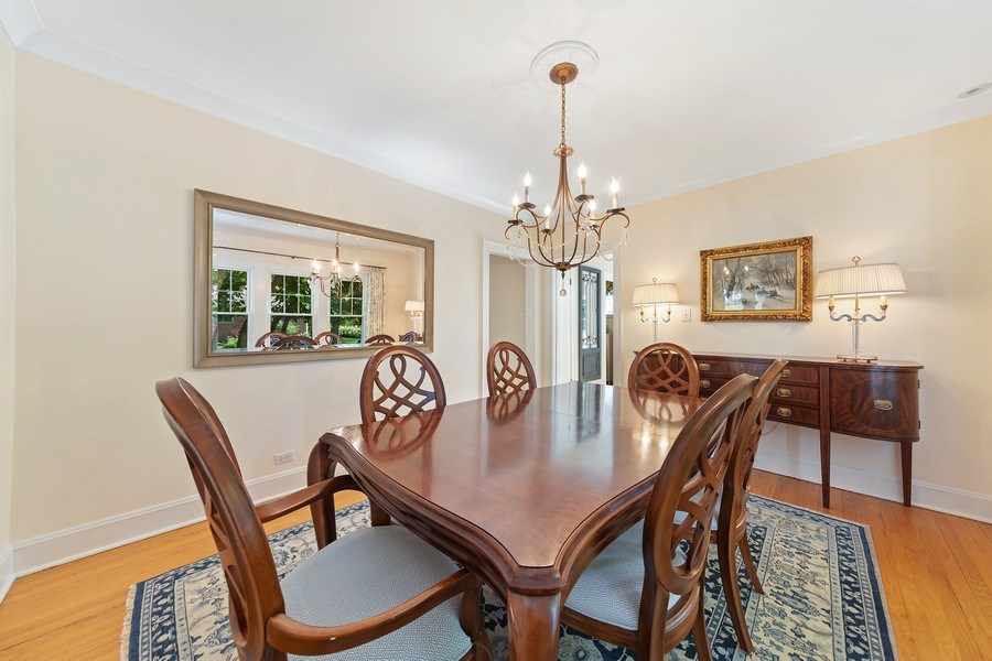 Real Estate Photography - 343 Bryant Ave, Glen Ellyn, IL, 60137 - Dining Room