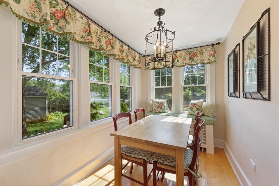 Real Estate Photography - 343 Bryant Ave, Glen Ellyn, IL, 60137 - Breakfast Area
