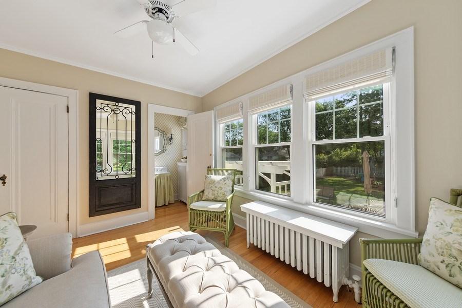 Real Estate Photography - 343 Bryant Ave, Glen Ellyn, IL, 60137 - Sunroom
