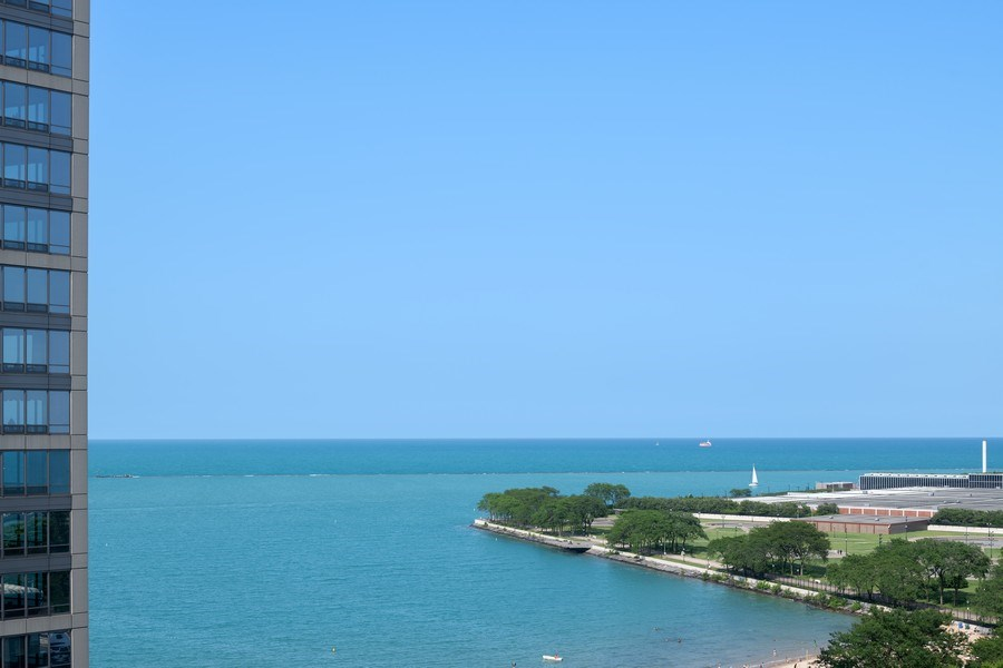 Real Estate Photography - 530 N Lake Shore Dr, Unit 1303, Chicago, IL, 60611 - View