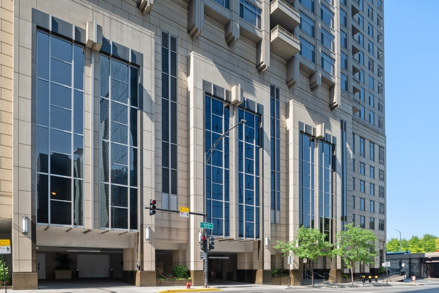 Real Estate Photography - 530 N Lake Shore Dr, Unit 1303, Chicago, IL, 60611 - Front View