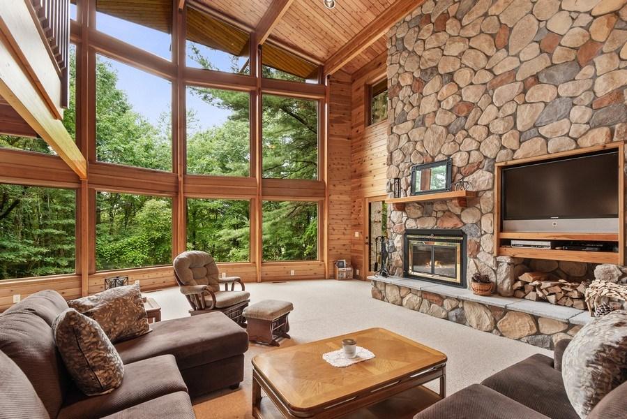 Real Estate Photography - 2126 Wagner Road, Buchanan, MI, 49107 - Living Room
