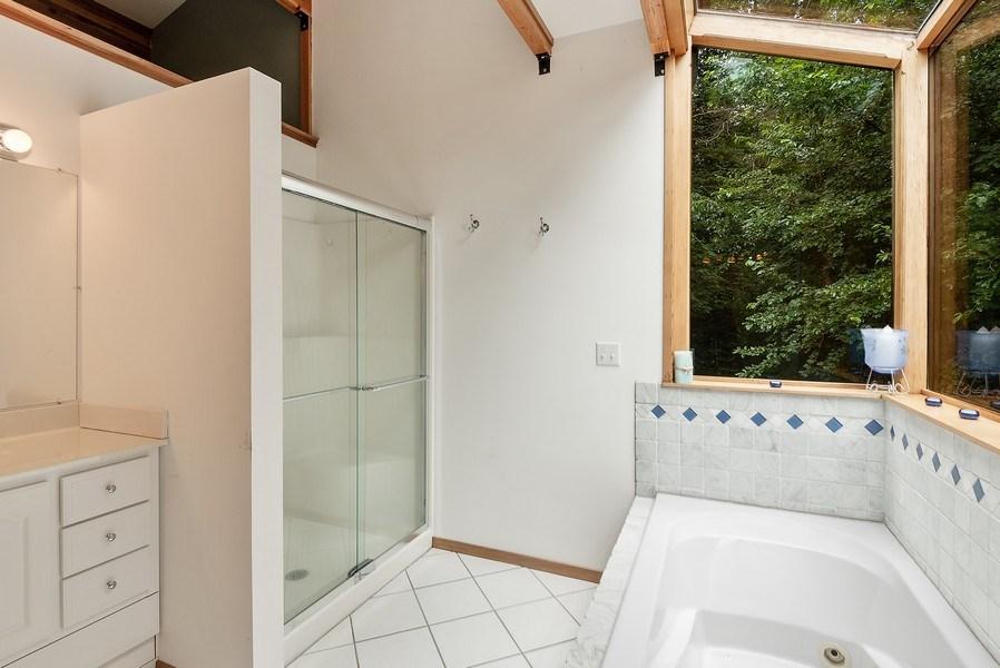 Real Estate Photography - 2126 Wagner Road, Buchanan, MI, 49107 - Master Bathroom