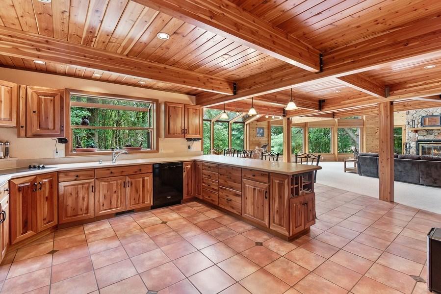 Real Estate Photography - 2126 Wagner Road, Buchanan, MI, 49107 - Kitchen