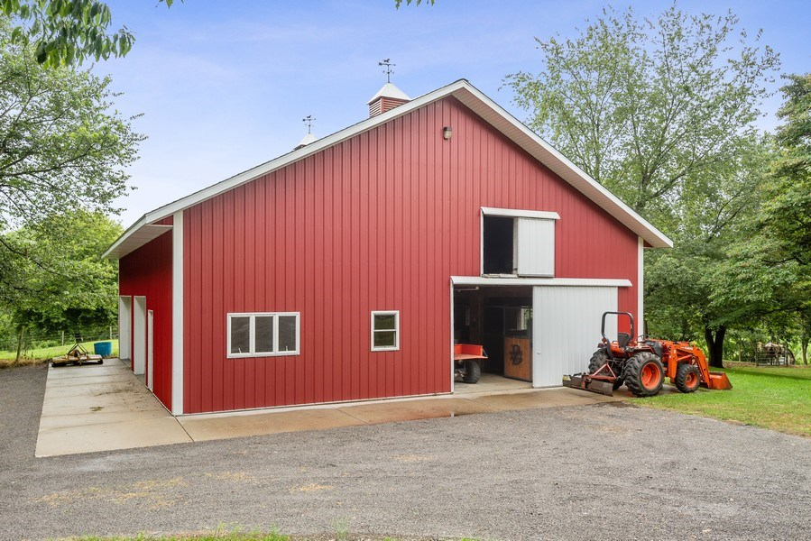 Real Estate Photography - 2126 Wagner Road, Buchanan, MI, 49107 - Horse Stall / Stables