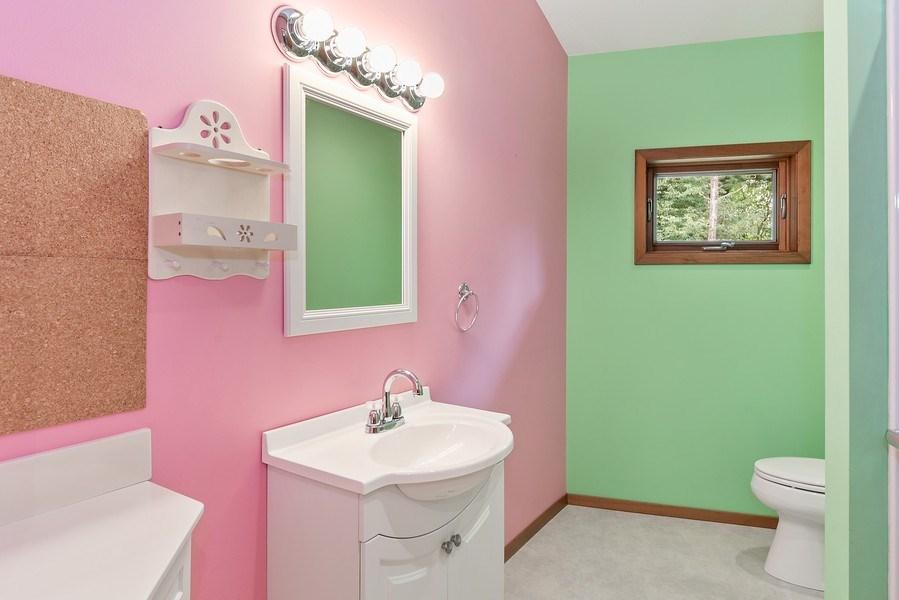 Real Estate Photography - 2126 Wagner Road, Buchanan, MI, 49107 - 2nd Bathroom