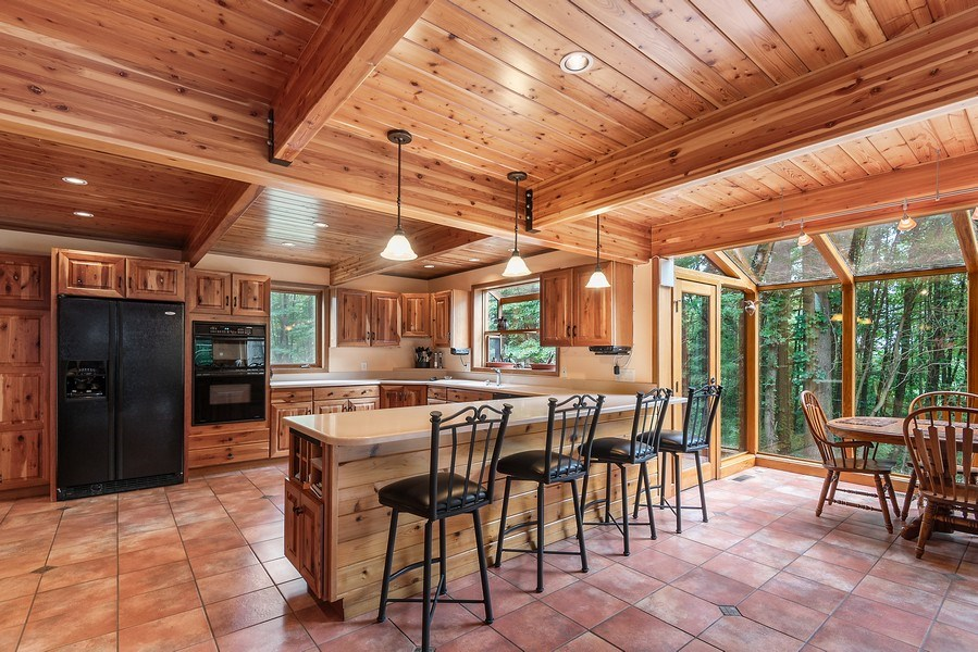 Real Estate Photography - 2126 Wagner Road, Buchanan, MI, 49107 - Kitchen/Dining