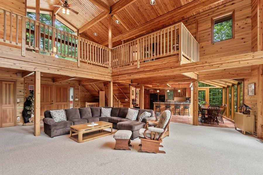Real Estate Photography - 2126 Wagner Road, Buchanan, MI, 49107 - Living Room / Dining Room