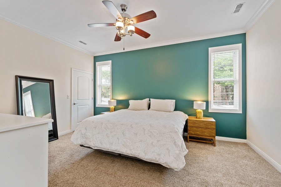Real Estate Photography - 4721 N. Clark St., 2S, Chicago, IL, 60640 - Master Bedroom