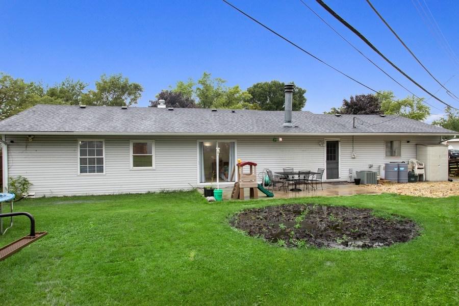 Real Estate Photography - 105 s Maxon ln, Streamwood, IL, 60107 - Rear View