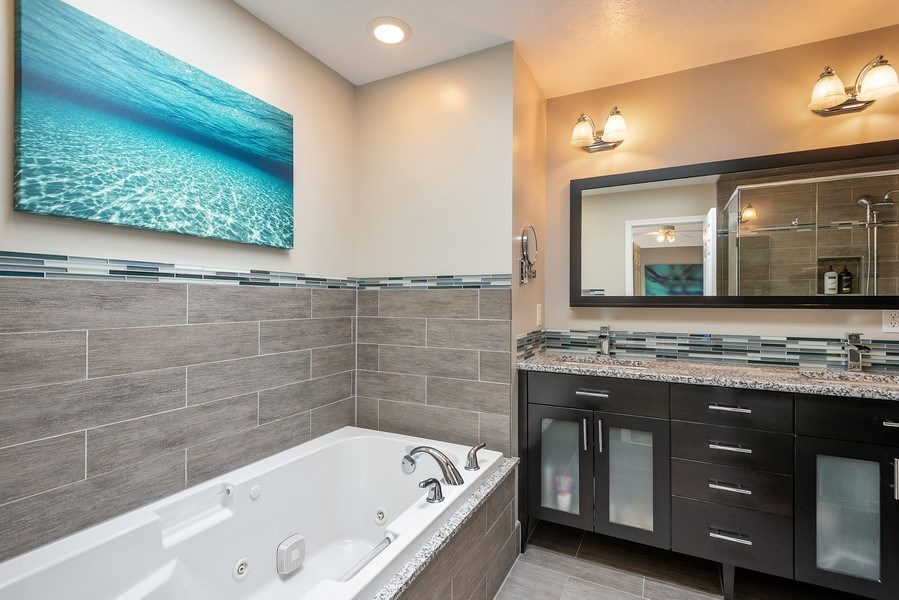 Real Estate Photography - 5532 Pioneer Avenue, St. Joseph, MI, 49085 - Master Bathroom