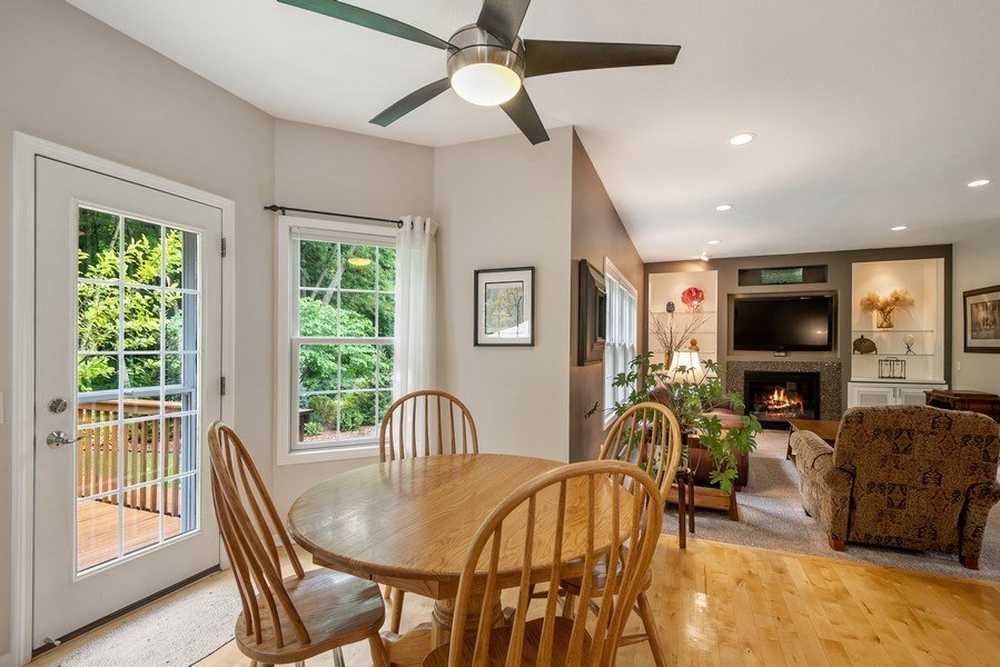 Real Estate Photography - 5532 Pioneer Avenue, St. Joseph, MI, 49085 - Breakfast Area