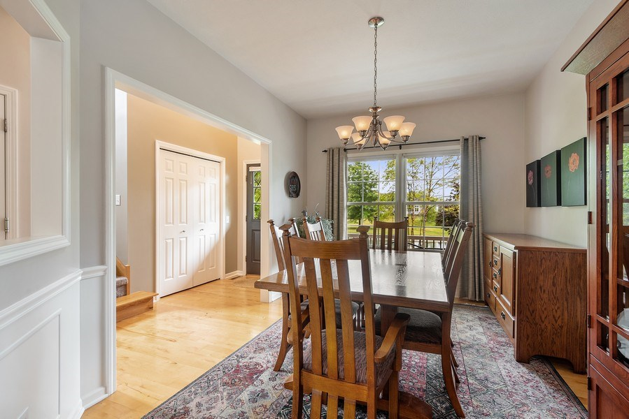 Real Estate Photography - 5532 Pioneer Avenue, St. Joseph, MI, 49085 - Dining Room