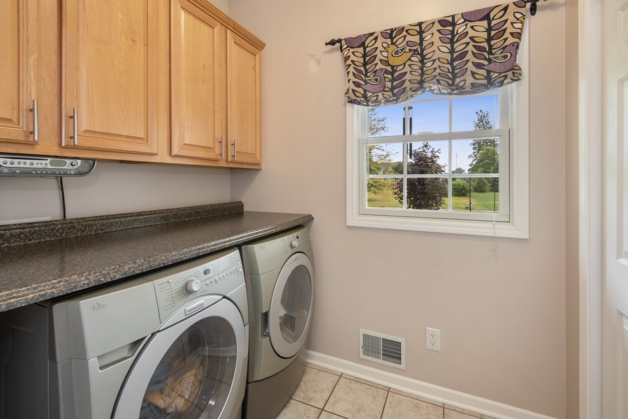 Real Estate Photography - 5532 Pioneer Avenue, St. Joseph, MI, 49085 - Laundry Room