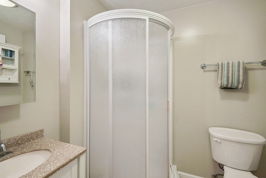 Real Estate Photography - 5532 Pioneer Avenue, St. Joseph, MI, 49085 - Basement Bathroom