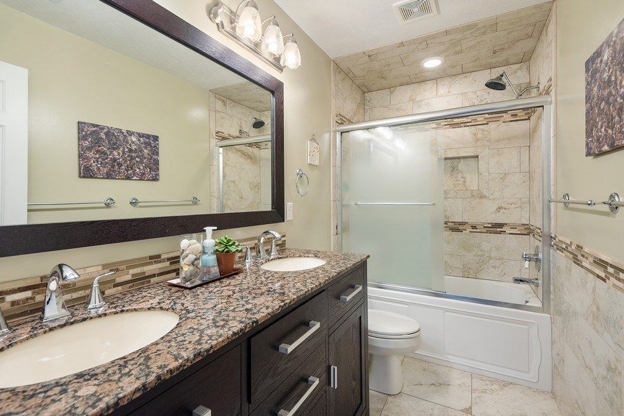 Real Estate Photography - 5532 Pioneer Avenue, St. Joseph, MI, 49085 - 2nd Bathroom