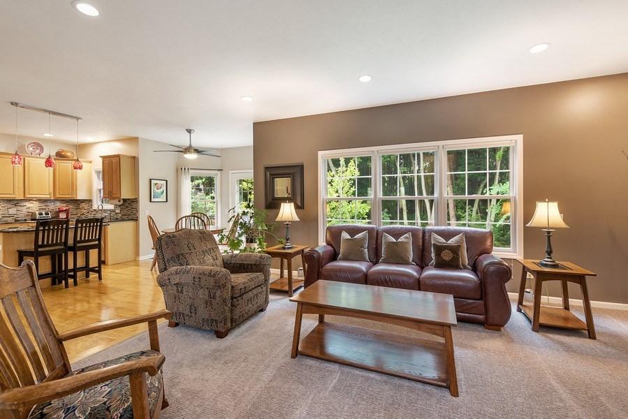 Real Estate Photography - 5532 Pioneer Avenue, St. Joseph, MI, 49085 - Kitchen / Living Room
