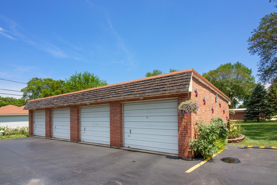 Real Estate Photography - 10740 W Cermak Rd, Westchester, IL, 60154 - Garage